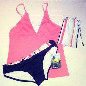 CARVE Designs Swim Bikini Tankini Bottom L XL